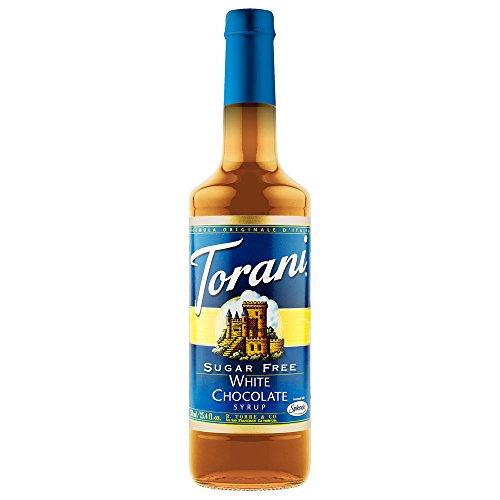 Price comparison product image Torani Sugar Free White Chocolate Syrup with Splenda,  750 ml