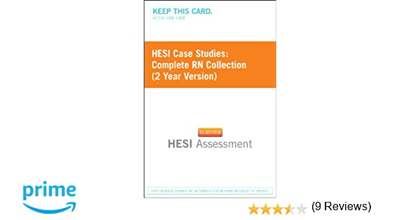 Hesi case studies complete rn collection 2 year version hesi case studies complete rn collection 2 year version 9781455727063 medicine health science books amazon fandeluxe Images