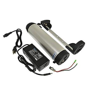 PXL-SH-36130-SR Bike con 2a Cargador Encaja 36V 500W Ion 13ah Botella e AD Almac/én alem/án pswpower UE no Tax 36V bateria Li
