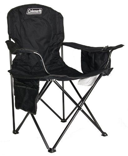 (2) COLEMAN Camping Outdoor Oversized Quad Chairs/Coolers