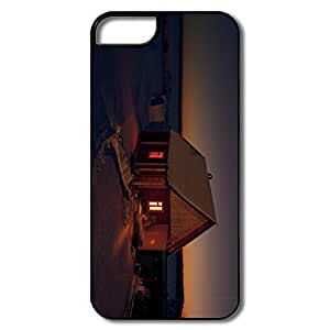Custom Funny Bumper Case Chalet By Night IPhone 5/5s Case For Friend