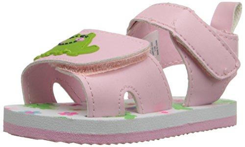 Gerber Pink Frog Sandal Infant