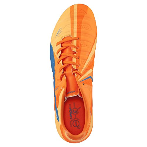 Puma soccer shoes evoPOWER 3 H2H Tricks Football Men 103721 01 orange / blau