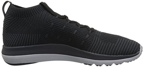 de Under Black Homme Armour UA Noir 001 Mid Running Chaussures Slingflex qX6Aq