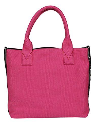 Pinko Borsa Shopping Donna 1H20DSY4C9N94 Cotone Fucsia