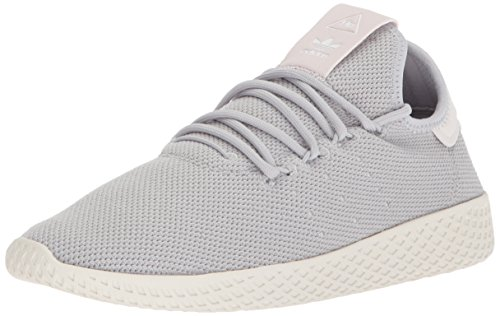 adidas Women's PW Tennis HU W Sneaker, Light Solid Grey Heather/Light Solid Grey Heather/Chalk White, 5.5 Medium US
