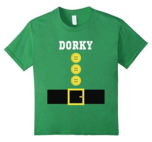 Kids Funny DORKY Dwarf Halloween Costume Tshirt 6 (Dorky Girl Halloween Costumes)
