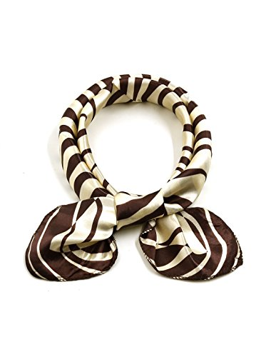 uxcell Square Pattern Contrast Neckerchief