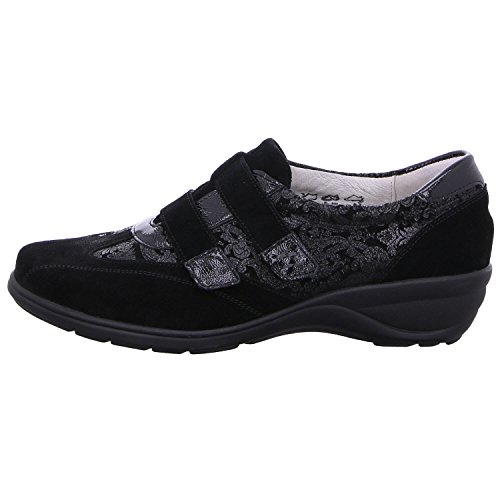 Waldläufer Women's Loafer Waldläufer Women's Loafer Black Black Waldläufer Flats Flats Loafer Black Women's Flats Waldläufer Women's fnUPq