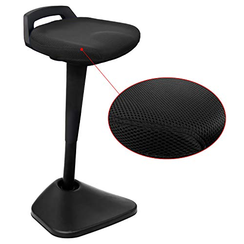 AIMEZO Sit Stand Desk Stool - 360° Swivel Seat Standing Desk Chair with Adjustable Height Active Sitting Balance Chair by AIMEZO (Image #1)