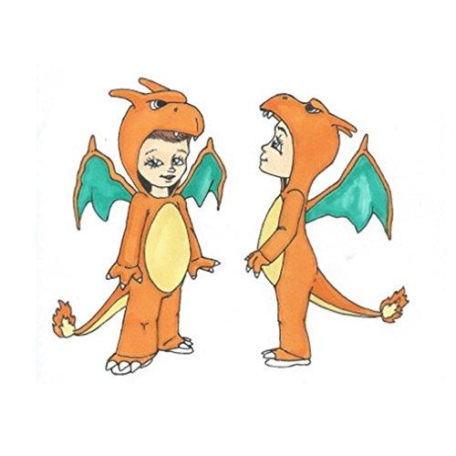 Pokemon Charizard Jumpsuit -