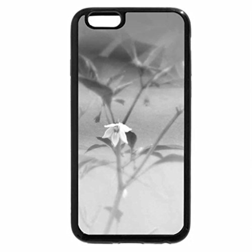 iPhone 6S Case, iPhone 6 Case (Black & White) - Bunga Cabe