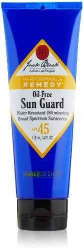 Jack Black Sun Guard Sunscreen SPF 45 Oil-Free & Very Water Resistant, 4 fl. oz.