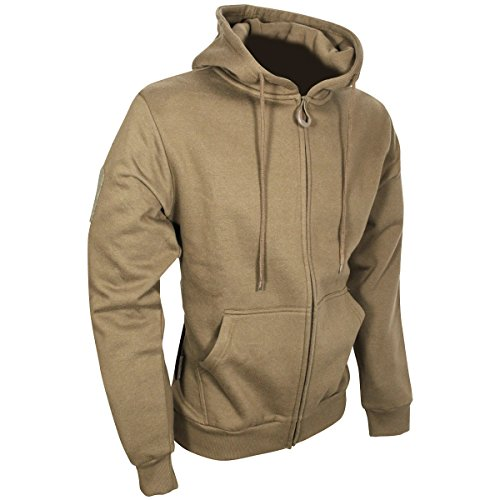 Viper Men's Tactical Hoodie Zipped Coyote size L