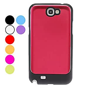 DUR Mill Finish Hard Case for Samsung Galaxy Note 2 N7100 (Assorted Colors) , Black