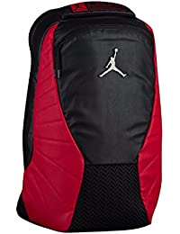Jordan Retro 12 Backpack W/ Laptop Pocket Black/Gym Red