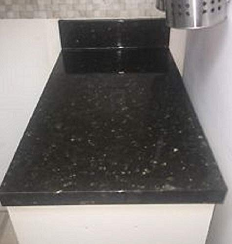 Countertop Paint? No!! Upgrade Counter Tops with Removable Black Marble Granite Bubble Resistant SELF Adhesive PET/PVC Vinyl Film 36'' x 96'' by EZ FAUX DECOR (Image #7)