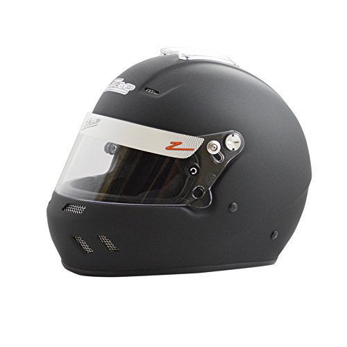 Zamp Racing Helmet - Zamp RZ-58 Snell SA2015 Helmet Matte Black Large