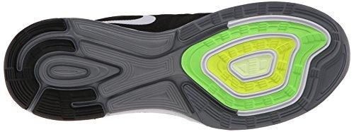 Nike Lunarglide 6, Herren Laufschuhe Schwarz (Black/White-Pro Platinium-Cool Grey)