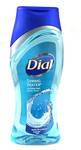 (Dial Antibacterial Moisturizing Body Wash - Spring Water - 12)