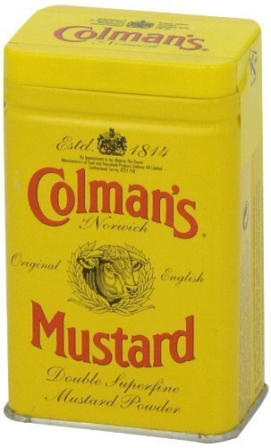 Colman's Dry Mustard Powder 16 oz (Pack of (Colmans Dry Mustard)
