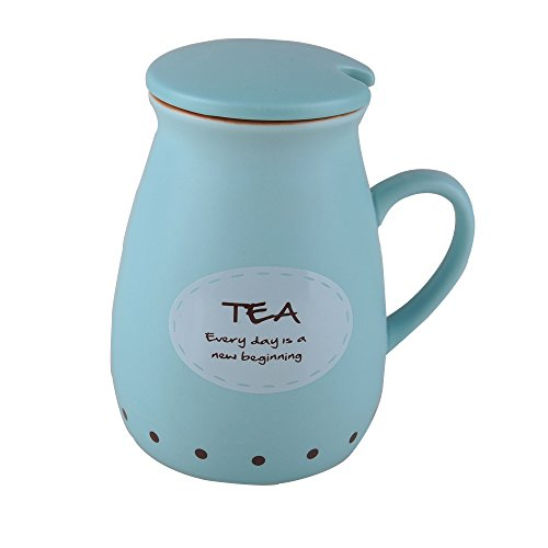 Cute Ceramic Coffee 14oz blue product image