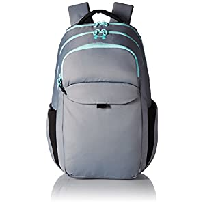 Under Armour Women's On Balance Backpack,Steel /Blue Infinity, One Size