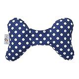 Baby Elephant Ears- Head Support Pillow (Blue Dot)