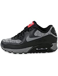 nike air max 90 essential mens running trainers 537384 sneakers shoes (uk 6 us 7 eu 40, black cool grey anthracite university red 065)