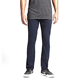 New Men's Dri-Fit Worker Pant Cotton Polyester Spandex Brown