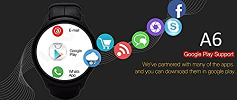 Indigi® Android 4.4 SmartWatch 3 G + WiFi muñeca teléfono ...