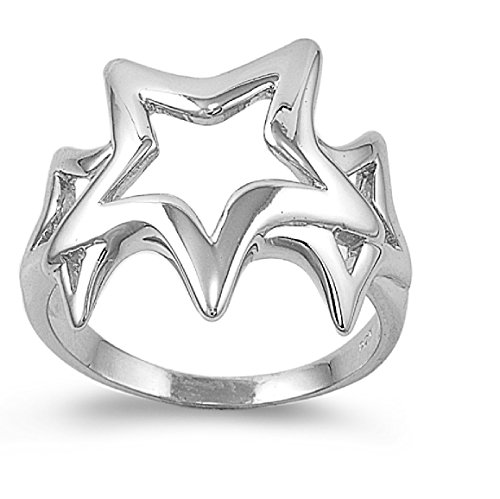 Stars of Hope Ring Sterling Silver 925