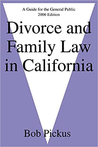 divorce and california and law