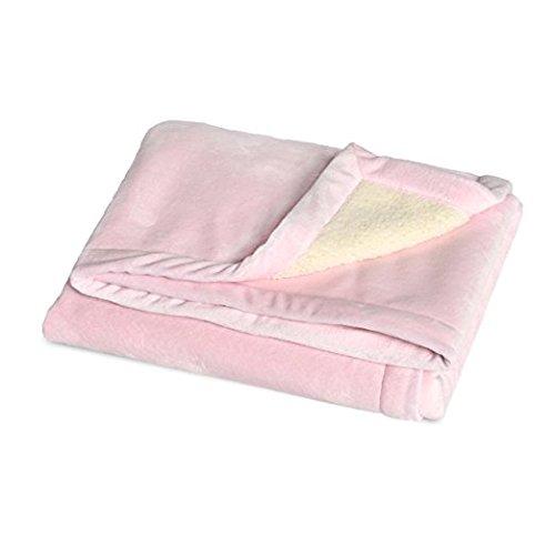 JJ Cole BundleMe Throw Blanket, Pink (Pink Bundle Baby)