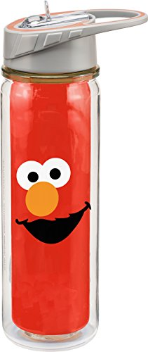 Sesame Street Elmo 18 Oz. Tritan Water Bottle 32275
