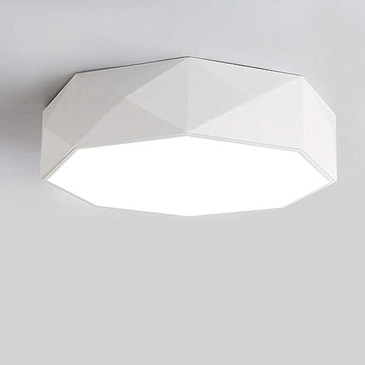 Amazon.com: LADIQI Lámpara de techo LED moderna de 16.0 in ...