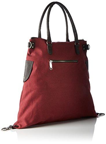 Bags4less Sac Rot F3151 kirschrot Bandoulière TTqZ0wCn