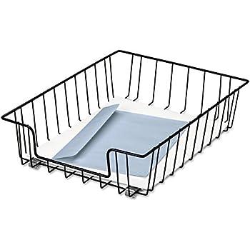 Amazon Com Fellowes 60112 Wire Desk Tray Letter Size 10 X14 X