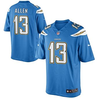 Authentic Nike Nfl 2017 Limited Edition Los Angeles Charger Keenan Allen Jersey Blue