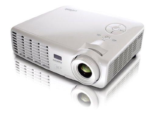 Vivitek D537W 3200 Lumen WXGA HDMI 120Hz 3D-Ready Ultra Portable Widescreen DLP Projector (White)