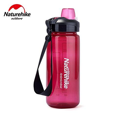 NatureHike 500ML Sport bouteille d'eau de pulvérisation d'eau Shaker extérieur Coupe Drinkware Vélo Sports Bottle Bouteille d'eau de remise en forme santé