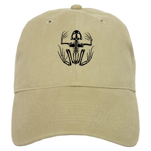 (CafePress - Desert Frog (4) - Baseball Cap with Adjustable Closure, Unique Printed Baseball Hat Khaki)