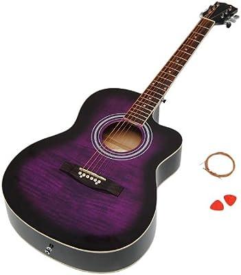 ts-ideen 5300 - Guitarra acústica estilo western de 4/4: Amazon.es ...