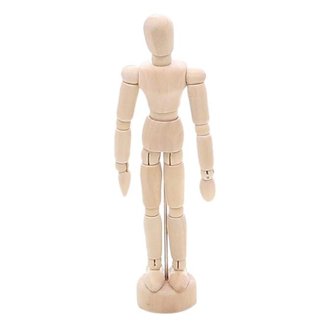 Amazon.com: UMFuns - Adornos de madera para muñecas y manos ...