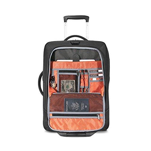 """Everki Titan Laptop Trolley mit anpassbarem Fach für Notebooks von 15"""" bis 18,4"""" (38,1-46,8 cm)"""