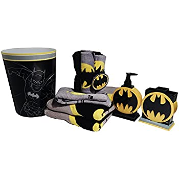 Merveilleux Batman Bathroom Accessories 12pc Bundle