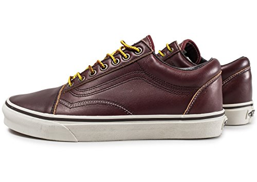 U Unisex Old Zapatillas Adulto Skool Vans Marro IqdUI