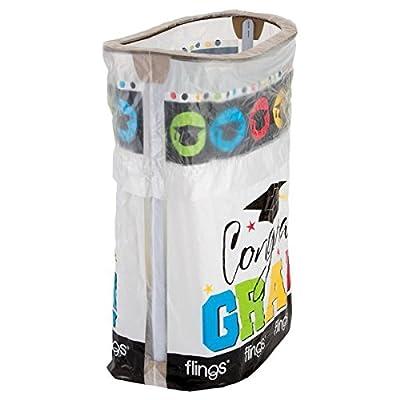 amscan Grad Flings Bin | Party Favor: Toys & Games