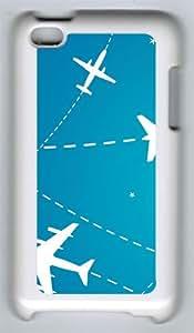 Flight Paths Custom iPod 4 Case Cover šC Polycarbonate šC White