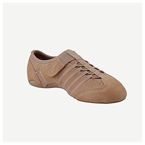 Capezio Pp16 Suola Jazz / Jazz Sneaker Jag Scamosciata Con Suola Spaccata
